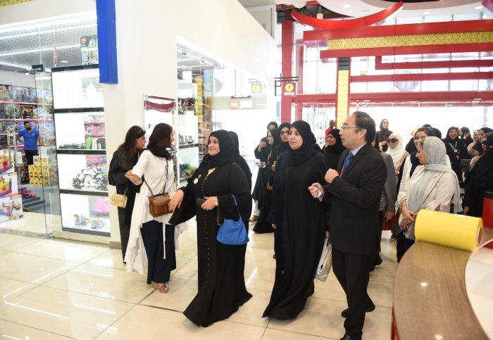 Al Noor Visit to Dragon City Bahrain